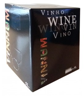 Bag in Box 5L. Oak red wine
